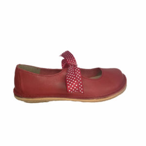 Freestyle Ladies Fern Red Leather Shoe