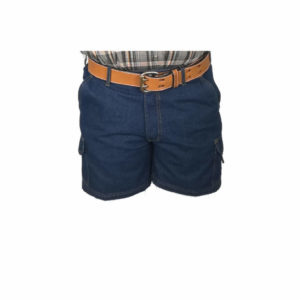 Salty Half Elasticated Denim Short