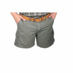 Salty Half Elasticated Cotton Canvas Short