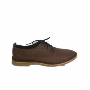Freestyle Mariela Onspan Brown Leather Shoe