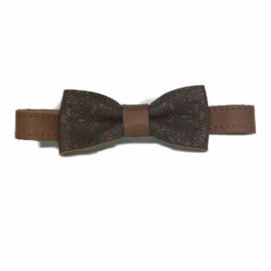 Genuine Leather Adult Bowtie
