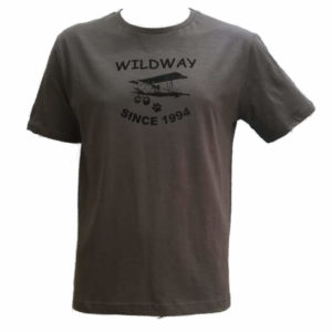 Crew Neck Taupe T-Shirt
