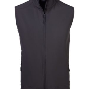 Sleeve Less Soft Shell Body Warmer Charcoal