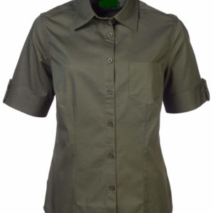 Ladies Angelique Blouse Olive