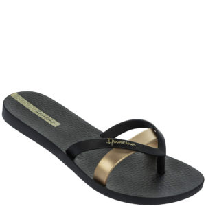 Ladies Ipanema Kirei Sandal BlackGold